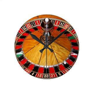Wall clock roulette pop