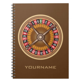 Roulette Wheel custom notebook