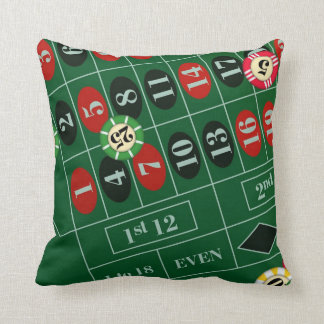Roulette Wheel Custom Pillow