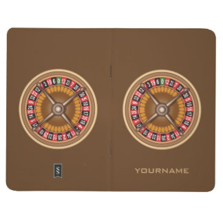 Roulette Wheel custom pocket journal