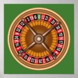 Roulette Wheel custom poster