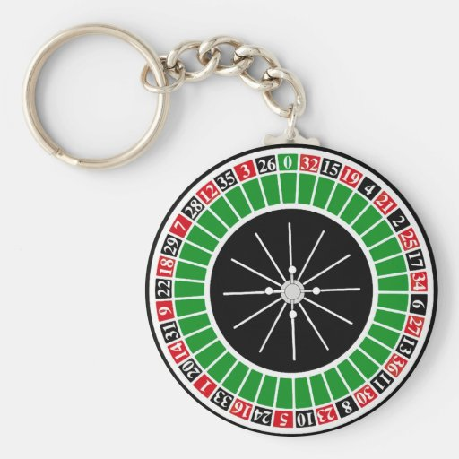 ROULETTE WHEEL KEY CHAINS