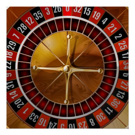 Roulette Wheel Posters