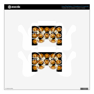 ROULETTE WHEEL PS3 CONTROLLER DECAL