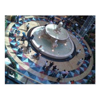roulette wheel shopping postcard