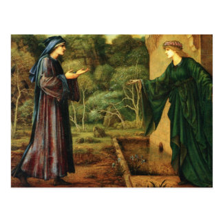 Roumant of the Rose Idleness Postcard