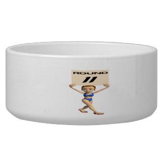 Round 11 dog bowls