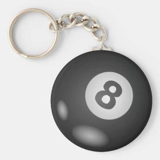 Round 8 Ball Keychains
