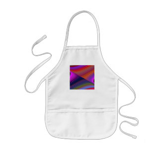 Round and about moondial fractal kids' apron