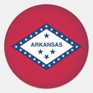 Round Arkansas Classic Round Sticker