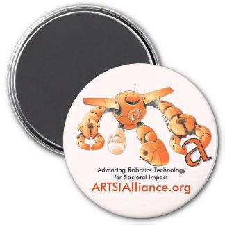 Round ARTSI Magnet