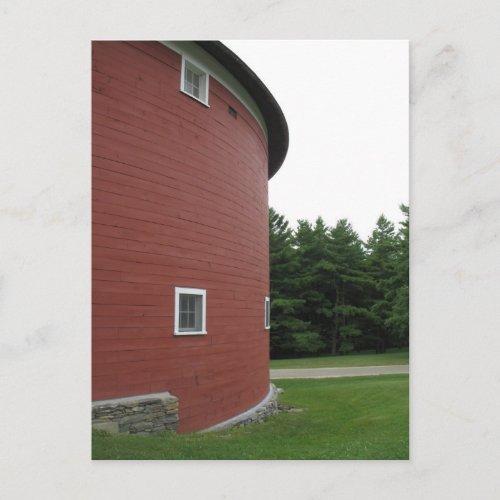 Round Barn - Shelburne, Vermont postcard
