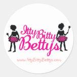 Round Betty Sticker