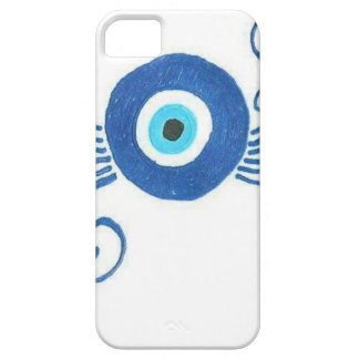 round blue evil eye iPhone SE/5/5s case