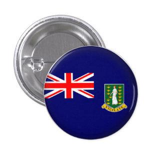 Round British Virgin Islands Button