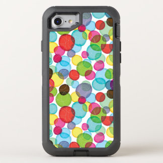 Round bubbles kids pattern 2 OtterBox defender iPhone 7 case