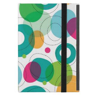 Round bubbles kids pattern iPad mini cover