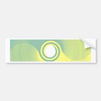 round bumper sticker