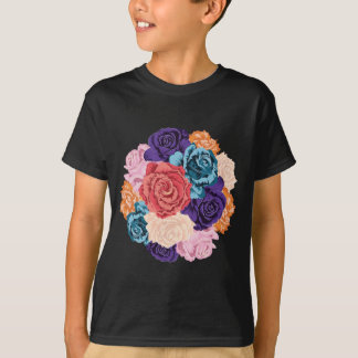 Round Bunch of Roses2 T-Shirt