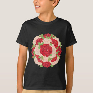 Round Bunch of Roses T-Shirt