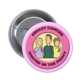 Round Button - Breast Cancer Fight