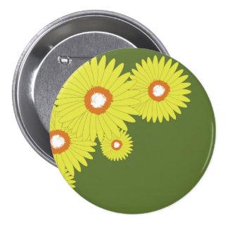 Round Button DAISY BURST