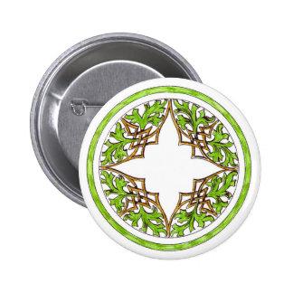 Round Button Victorian Ornament