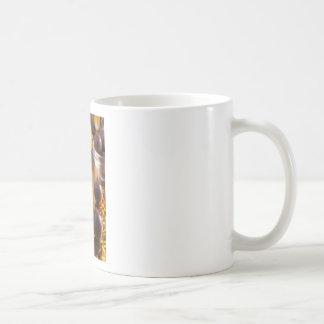 Round candy chocolate close-up coffee mug