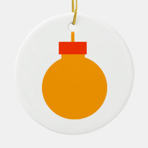 round christmas ornament orange red.png