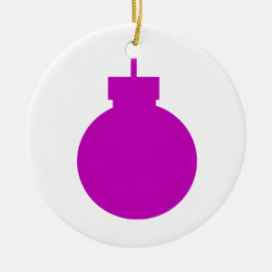round christmas ornament purple.png
