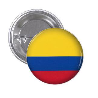 Round Colombia 1 Inch Round Button
