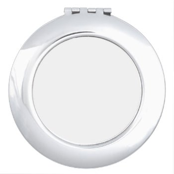 Round Compact Mirror by CREATIVEWEDDING at Zazzle