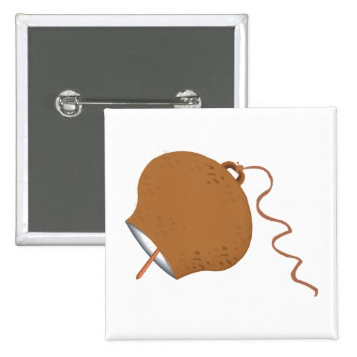 Round Cowbell Abstract Graphic Image Buttons