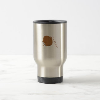 Round Cowbell Abstract Graphic Image Mug