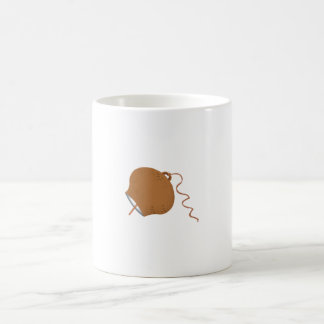 Round Cowbell Abstract Graphic Image Mugs