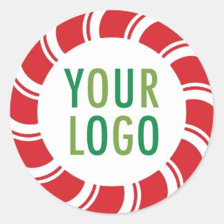 Round Custom Stickers Promotional Logo Holiday