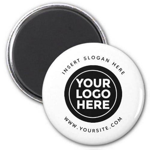 Round Custom Your Company Logo Magnet