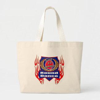 Round Dance Tote Bag