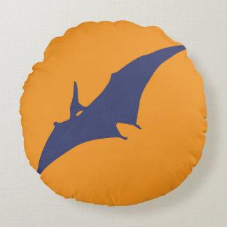 Round Dinosaur Pillow for Kids