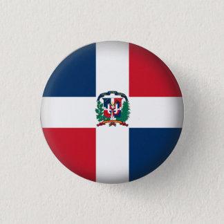 Round Dominican Republic Pinback Button