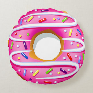 Round Doughnut Pillow - SRF