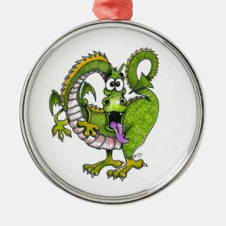 Round Dragon Ornament