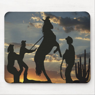 Round em up! mouse pad