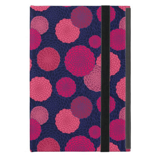 Round flowers pattern cover for iPad mini