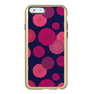Round flowers pattern incipio feather shine iPhone 6 case