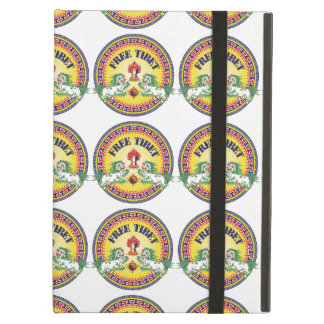 Round Free Tibet Cover For iPad Air