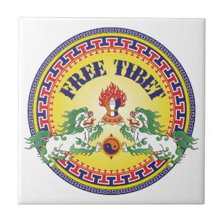 Round Free Tibet Tile