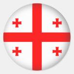Round Georgia Sticker