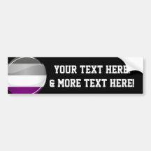 Asexual Pride Pixel Heart Magnet Car Auto Decal Bumper Sticker Refridgerator