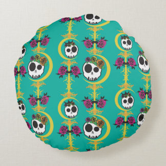 Round Haunted Pillow - COLOR